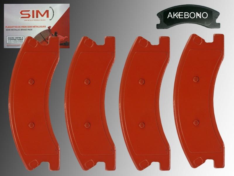 Rear Semi-Metallic Parking Brake Shoes For Explorer Grand Cherokee Windstar
