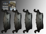 Ceramic Rear Brake Pads Hummer H3 2006-2010