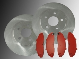 2 Front Brake Rotors and Front Brake Pad Set Ford F-150 4WD 1997-2003 Heritage 2004 5 Studs Wheel only!