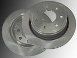 Rear Brake Rotors (7 Lug) Ford F-150 2012-2014