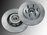 Front Brake Rotors and Hub Assembly Ford F-150 Pickup  2004-2008 2WD 6 Stud