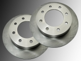 Front Brake Rotors Ford F-250 Super Duty 1999-2004 4WD 2x ABS