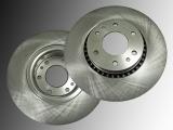 2 Bremsscheiben vorne Buick Rainier V8 5.3L 2004-2007 325mm Durchmesser