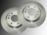 Front Brake Rotors GMC Envoy 2002-2005 305mm diameter rotor