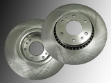 Front Brake Rotors GMC Envoy 2002-2009 With 325mm Diameter Rotor