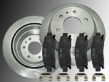 Rear Brake Rotors Ceramic Rear Brake Pads Chevrolet Trailblazer  / EXT  2002 - 2009