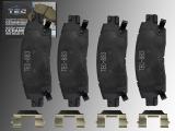 Keramik Bremsklötze hinten Chevrolet Trailblazer 2002-2009 Trailblazer EXT