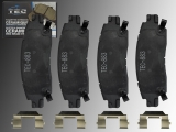 Ceramic Rear Brake Pads GMC Envoy 2002-2009