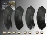 Ceramic Front Brake Pads Buick Rendezvous 2002-2007