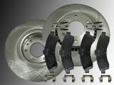 Front Brake Rotors Ceramic Front Brake Pads Chevrolet SSR 2003-2006