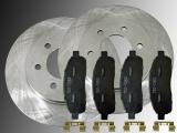 2 Bremsscheiben Keramik Bremsklötze vorne Lincoln Mark LT 4WD 2006-2008 6 Radbolzen