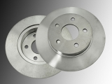 Rear Brake Rotors Chevrolet Malibu 2004-2012