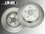 Rear Brake Rotors Chrysler 300C 2011-2019 Solid Rear Rotor