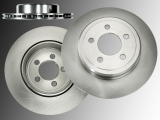 Rear Brake Vented Rotors Chrysler 300C 2WD 2011-2019 Vented Rotor