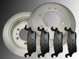 Rear Brake Rotors Ceramic Rear Brake Pads Hummer H3 2006-2010