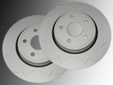 Slotted Front Brake Rotors Dodge Durango 2011-2020  350mm Outside Diameter