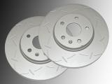 2 Geschlitzte Bremsscheiben vorne Chevrolet Equinox 2010-2017