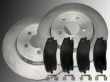 2 Bremsscheiben Bremsklötze vorne Dodge Charger 2006-2020 320mm Durchmesser