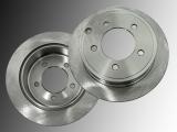 Rear Brake Rotors 262mm Diameter Dodge Avenger 2008-2014