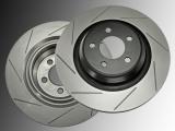 Slotted Rear Brake Rotors Dodge Charger SRT8 2006-2020