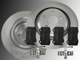 2 Bremsscheiben Keramik Bremsklötze hinten Dodge Magnum SRT8 2005-2008 349,80 mm