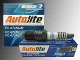 6 Spark Plugs Autolite Platinum Ford Bronco V6 2.8L 1984-1985, V6 2.9L 1986-1990 Full Thread Design