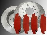 Rear Brake Rotors Rear Brake Pads Chevrolet Suburban 1500 2007-2014