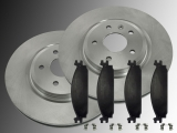 Front Brake Rotors Ceramic Front Brake Pads Lincoln MKS 2009-2012
