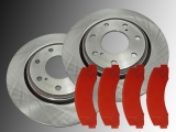 Front Brake Rotors Front Brake Pads Ford Expedition 2010-2020