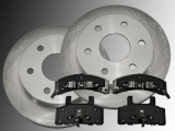 Front Brake Rotors 295 mm Ceramic Front Brake Pads Chevrolet Tahoe 4WD 1995-2000