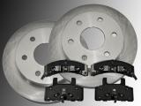2 Front Brake Rotors Ceramic Brake Pads Chevrolet Blazer 1992-1994