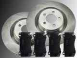 Front Brake Rotors Front Brake Pads Chrysler 300C SRT8 2011-2014