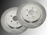 Rear Brake Rotors Volkswagen Routan 2012 - 2014 Rotors 328mm  Outside Diameter