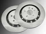 2 Front Brake Rotor Ford Flex Heavy-Duty 2013-2016