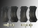Ceramic Front Brake Pads with Hardware Dodge Charger SRT8 V8 6.2L,6.4L 2015-2018