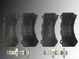 Ceramic Front Brake Pads with Hardware Dodge Challenger SRT Hellcat/SRT 392 V8 6.2L,6.4L 2015-2018