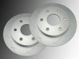 Front Slotted Brake Rotor Chevrolet Express 1500, 2500 2003-2008