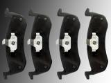 Keramik Bremsklötze hinten Lincoln MKT 2013-2019 für belüftete Bremsscheiben