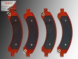 Rear Brake Pads GMC Savana 3500 2003-2008 w/ Dual Rear Wheels