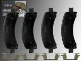 Keramik Bremsklötze hinten Chevrolet Express 1500, 2500, 3500 2003-2020