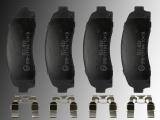 Ceramic Front Brake Pads Mercury Mountaineer 2002-2005