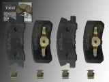 Ceramic Rear Brake Pads Chrysler 200 2011-2014 with 302mm Brake Rotors
