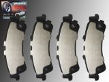 Ceramic Rear Brake Pads Cadillac DeVille 2000-2005 With 8 Lug Wheels