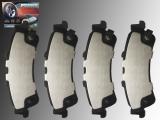 Ceramic Rear Brake Pads Chevrolet Suburban 1500 2000-2002 With Single Piston Caliper