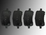 Bremsklötze vorne Chevrolet HHR SS 2.0L Turbochargeg 2008-2010 1 Kolben Bremssattel