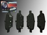 Ceramic Rear Brake Pads Pontiac G6 2005-2010
