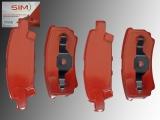 Rear Brake Pads Chrysler 200 2011-2014  262mm Rotors