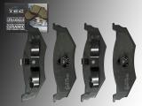 Ceramic Rear Brake Pads Chrysler Cirrus 1995-2000 Disc rear brakes