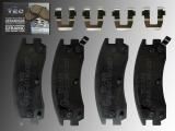 Keramik Bremsklötze hinten Cadillac Eldorado 1992-2002