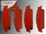 Bremsklötze hinten GMC Sierra 1500 2007-2013